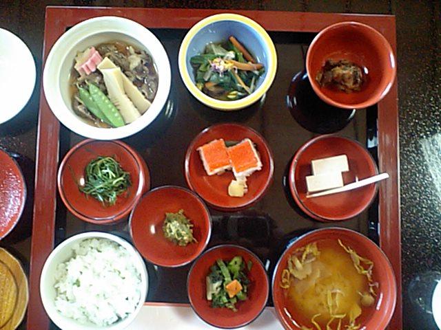上杉伯爵邸の昼食